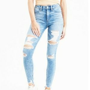 AEO Next Level Stretch High Rise Jegging  Size 8L